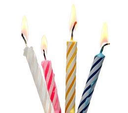 Svecītes tortei (24 gab)