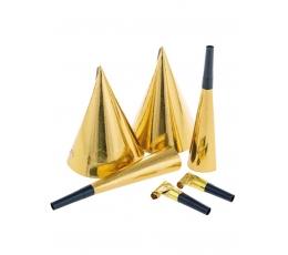 Svētku komplekts, zelta (2 personām)