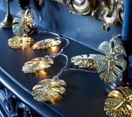 """Svētku LED virtene """"Zelta palmas"""" (2 m) 1"""