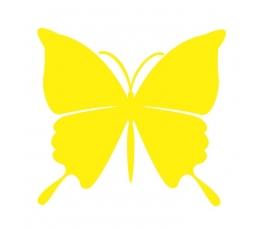 Tauriņi, dzeltenā krāsā (20 gab./ L)