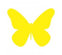 Tauriņi, dzeltenā krāsā (20 gab./ XS)