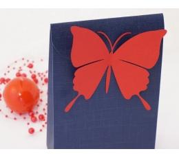 Tauriņi, koši sarkanā krāsā (20 gab./ L)