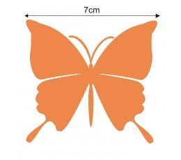Tauriņi, oranžā krāsā (20 gab./ S)
