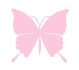 Tauriņi, rozā krāsā (20 gab./ L)