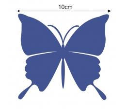 Tauriņi, tumši zilā krāsā (20 gab./ L)