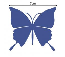 Tauriņi, tumši zilā krāsā (20 gab./ S)