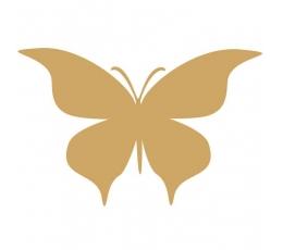 Tauriņi, zelta krāsā (20 gab./ S)