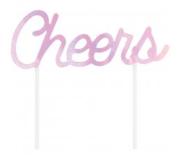 "Tortes dekorācija ""Cheers"", perlamutra"