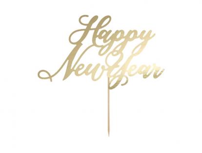 "Tortes dekorācija ""Happy New Year"""