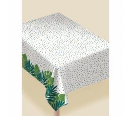 """Ūdensizturīgs galdauts """"Tropiskās lapas"""" (132x228 cm)"""
