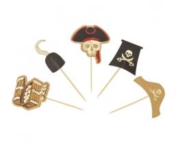"""Uzkodu kociņi """"Pirāti"""" (10 gab.)"""