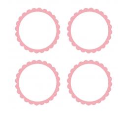 Uzlīmes, rozā (20 gab)