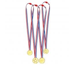 Uzvarētāju medaļas (4 gab.)