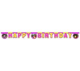 """Virtene """"Happy birthday - Maša"""""""
