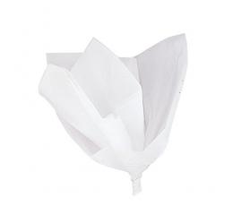 Zīdpapīrs, balts (10 gab./50 x 60 cm)