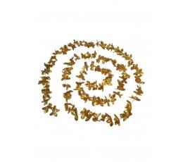 Ziedu vītne, zelta folija (3,6 m)