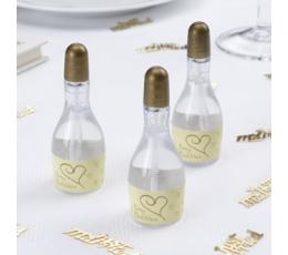 """Ziepju burbuļi """"Svētku pudele"""", šampanieša krāsā (1 gab)"""