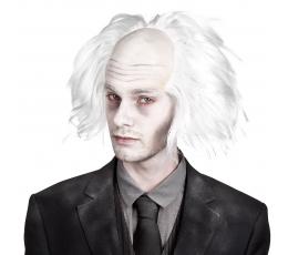 Zinātnieku zombiju parūka, balta
