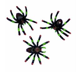 Zirnekļi (8 gab)