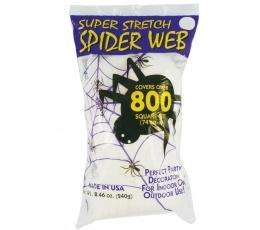 Zirnekļa tīkls, balts (240 g)
