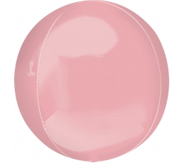"""Фольгированный шарик """"Orbz"""" , розовый (38 cm)"""