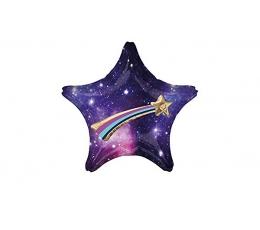 """3D фольгированный шар """"Звезда галактики"""" (71х71 см)"""