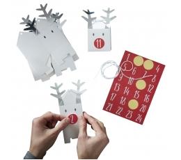 """Адвент календарь """"Рождественские олени- коробочки"""""""