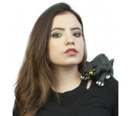 """Аксессуар на плечо """"Черная кошка"""" (1 шт.)"""