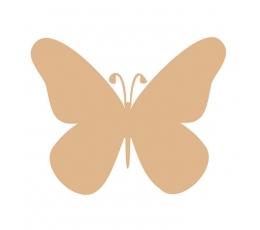 Бабочки, светло-коричневый (20 шт. / Л)