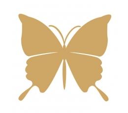 Бабочки, золотые (20 шт. / M)
