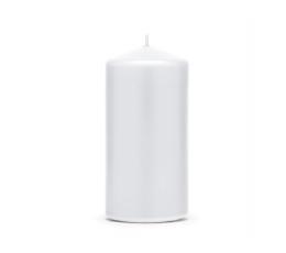 Белая свеча (11,5 х 6 см)