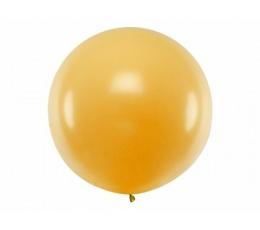 Большой воздушный шар золотого цвета (1м)