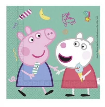 "Бумажные салфетки ""Peppa Pig"" (20 шт)"