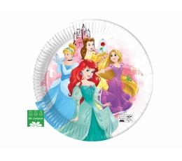 """Бумажные тарелочки """"Disney Princes"""", компостируемые (8 шт/23 см)"""