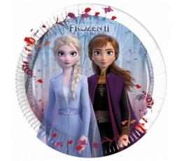 """Бумажные тарелочки """"Frozen 2"""" (8 шт/ 20 см)"""