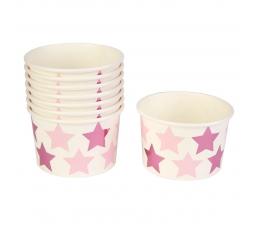 """Чашечки для закусок """"Розовые звездочки"""" (8 шт)"""