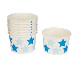"""Чашечки для закусок """"Синие звездочки"""" (8 шт)"""