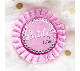 "Декоративная брошь ""Bride to be"""