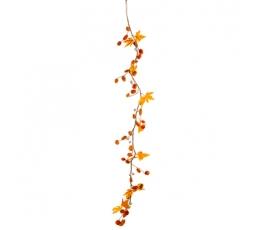 Декоративная гирлянда  «Оранжевая осень» (1,2 м)