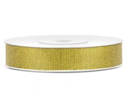 Декоративная лента, золотого цвета (25 м)