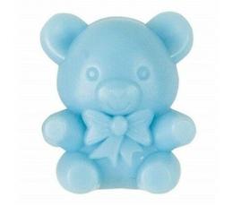Декоративные мишки, голубого цвета (16 шт)