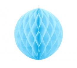 Декоративный шар, светло синий(20 см)