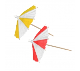 Декоративный шпажки - зонтики (10 шт)