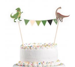 """Декорация для торта """"Динозавры"""""""