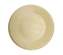 Деревянные тарелочки (4 шт/ 19 см)
