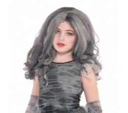 Детский серый парик