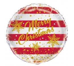 """Фольгированный шарик """"Merry Christmas"""" (45 см)"""