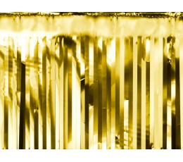 Фольгированная гирлянда -дождик, золотой (18,5 x 400 cm)