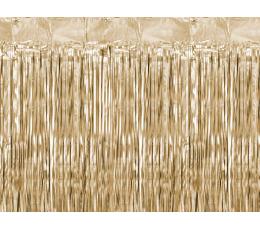 Фольгированные занавески, коричневато-золотистые (90х250 см)