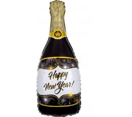 """Фольгированный шар """"Happy New Year"""", шампанское"""